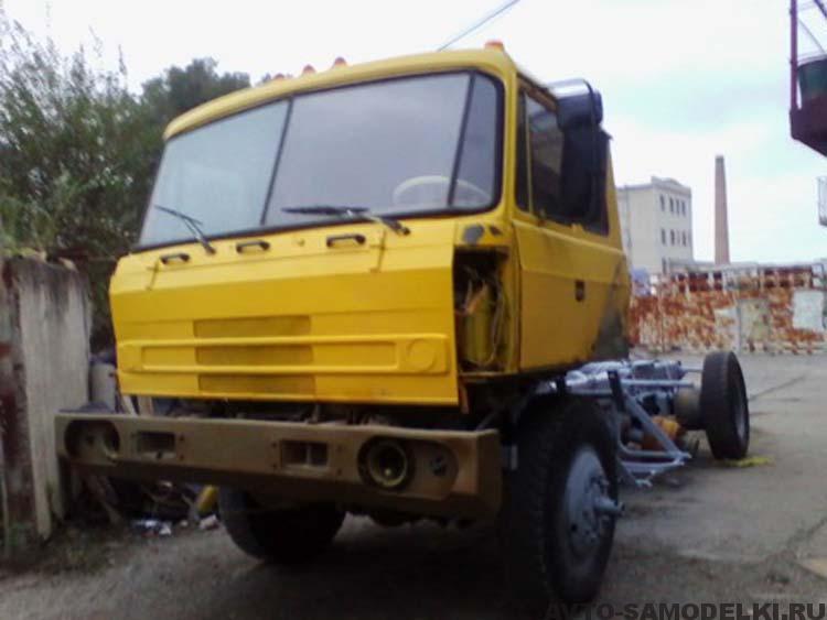 татра восстановление грузовика