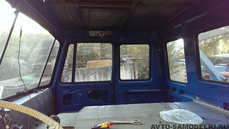 ремонт грузовика фото
