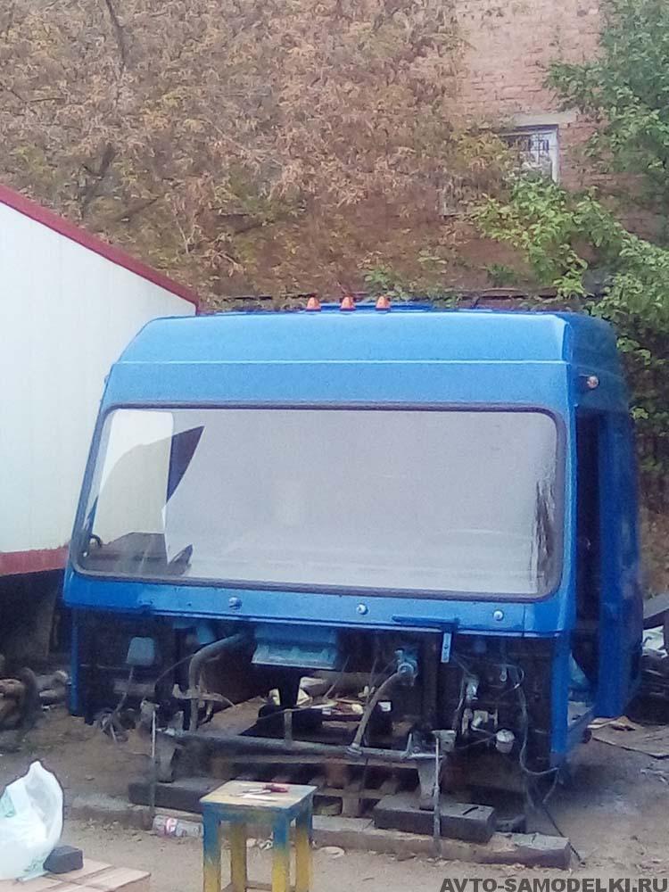 ремонт кабины МАЗа