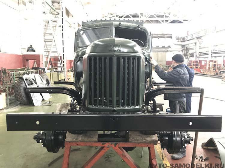 ЗИЛ-157 реставрация