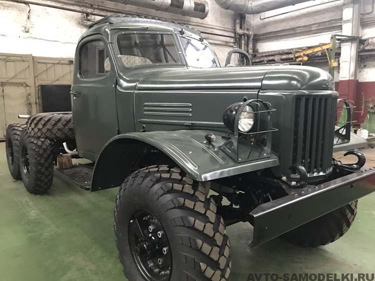 Восстановление автомобиля ЗИЛ-157