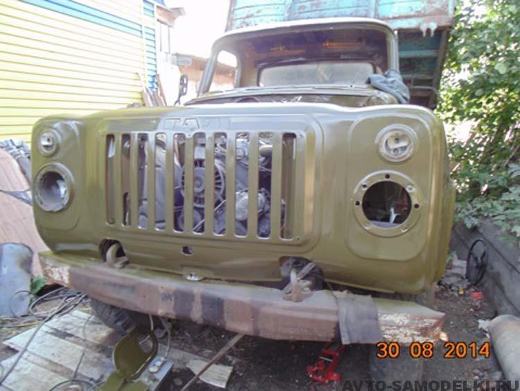 ГАЗ 52 реставрация