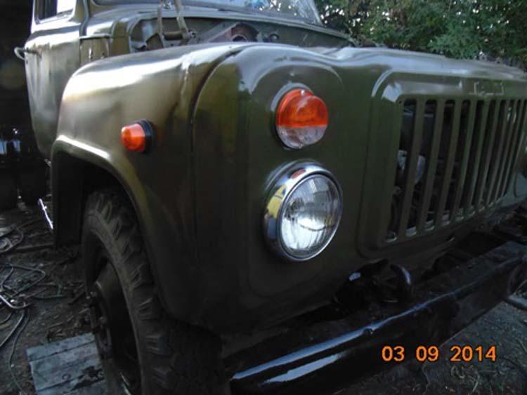 автомобиль ГАЗ 52 восстановление своими руками