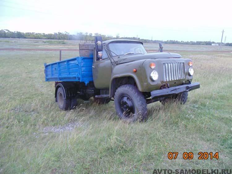 восстановление автомобиля ГАЗ-52