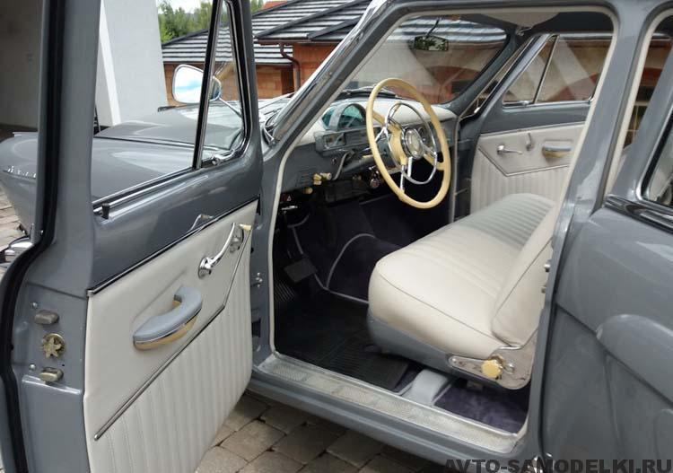 реставрация автомобиля ГАЗ-22