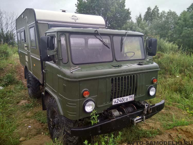 кемпер ГАЗ 66 самодельный