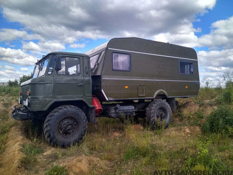 Автодом ГАЗ-66 кемпер