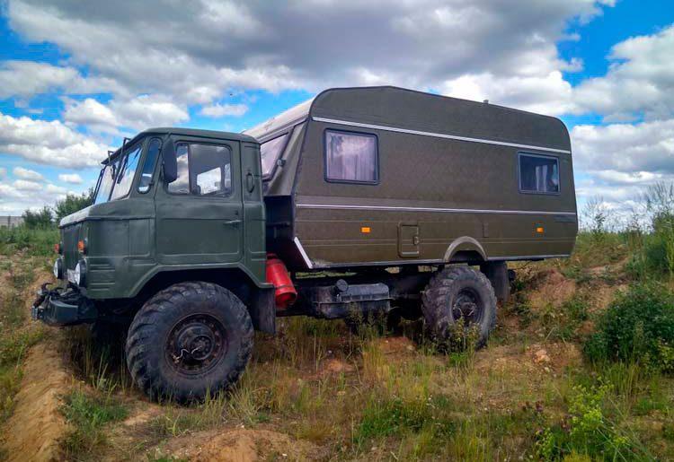 ГАЗ-66 автодом