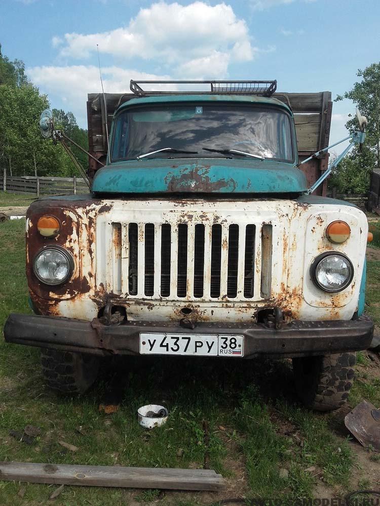 ремонтирую свой ГАЗ 53