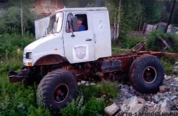 Самодельный вездеход из ГАЗ-66