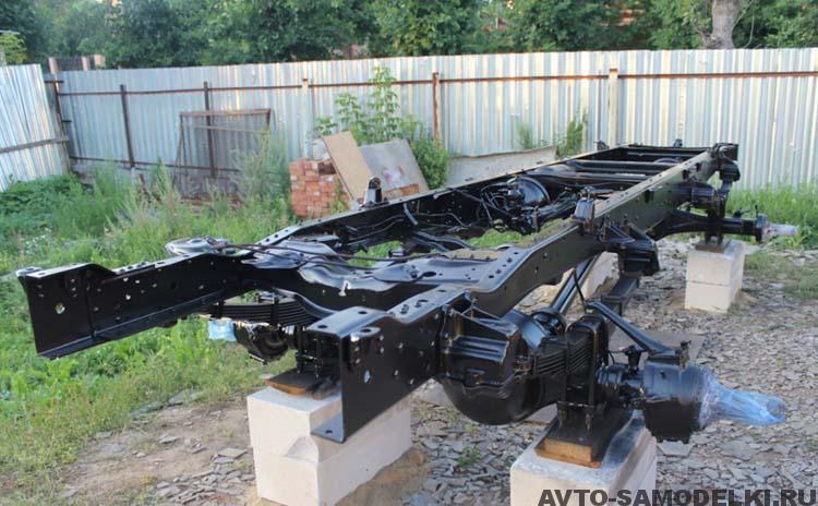 рама автомобиля ГАЗ-66