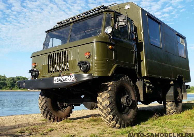 восстановление ГАЗ-66