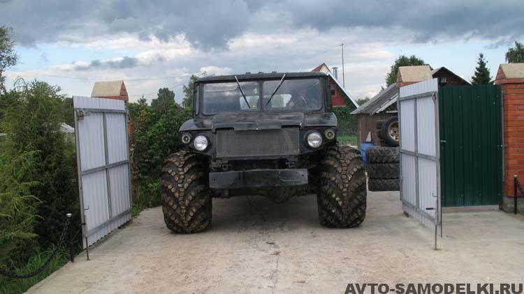 самодельный Вездеход на базе ГАЗ 66 своими руками
