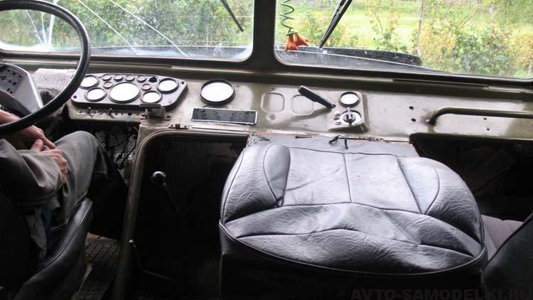 самодельный Вездеход на базе ГАЗ 66