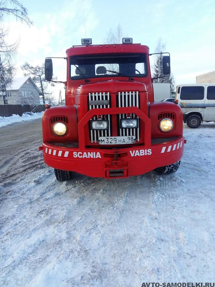 грузовой эвакуатор SCANIA 111