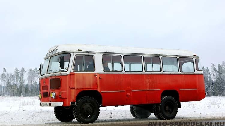 реставрация автобуса