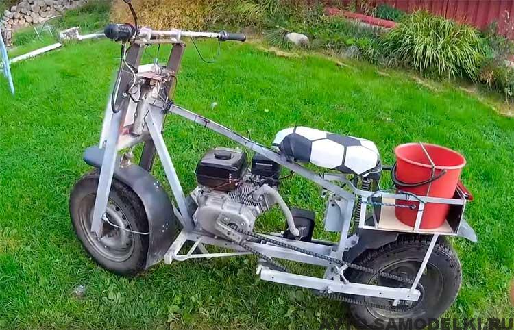 самодельный мотоцикл