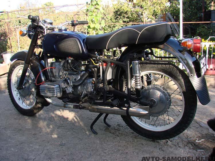 восстановление мотоцикла МТ