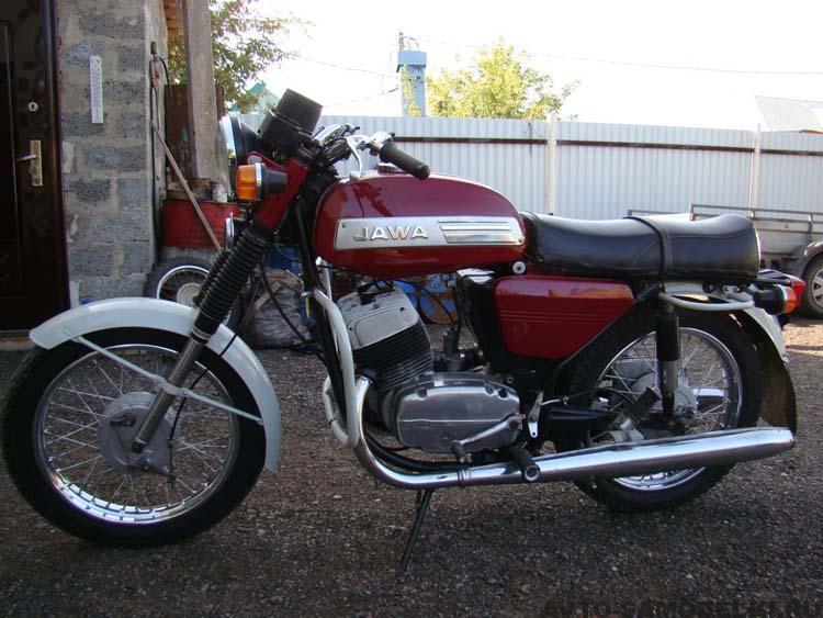 восстановление мотоцикла Ява 634
