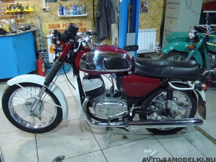 Реставрация мотоцикла Ява 634