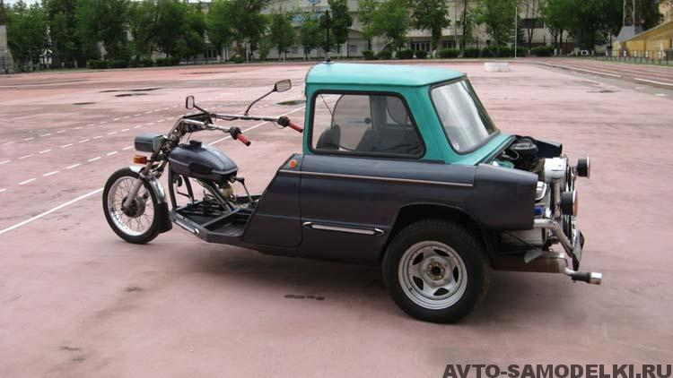 ЗАЗ трицикл самоедлка