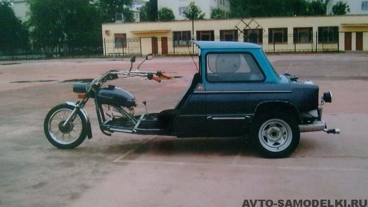 трёхколёсник из Запорожца