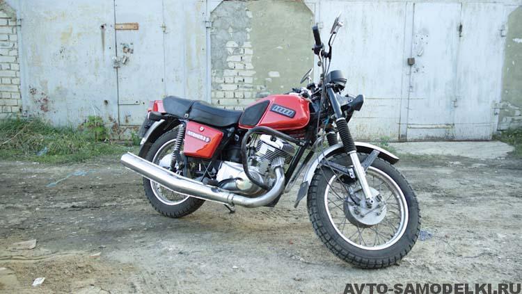 мотоцикл Иж Планета 5 ремонт
