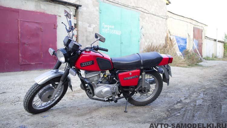 Восстановление мотоцикла Иж Планета 5