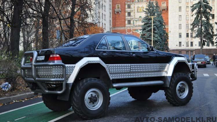 внедорожник на базе ГАЗ 66