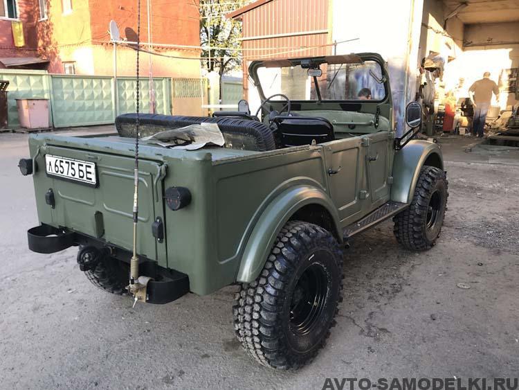восстановление ГАЗ 69 А