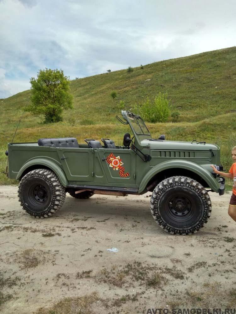 Реставрация автомобиля ГАЗ 69 А
