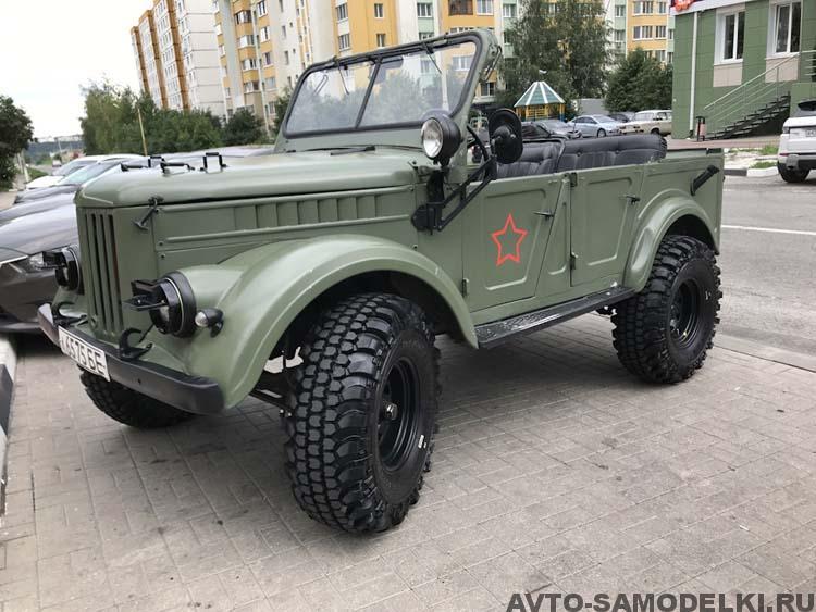 Реставрация ГАЗ 69 А