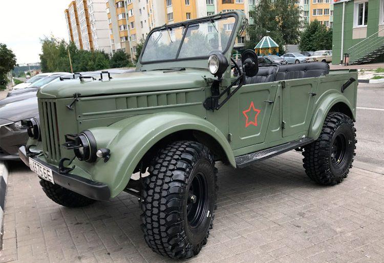 автомобиль ГАЗ 69