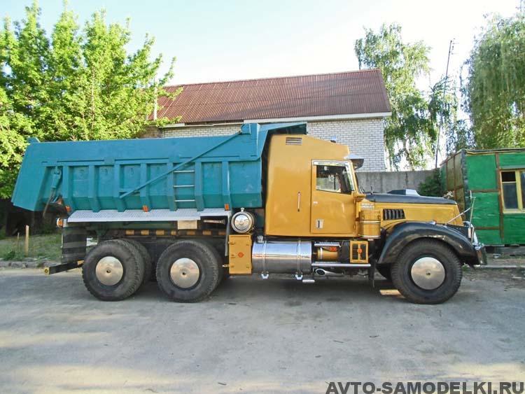 тюнинг грузовика Краз