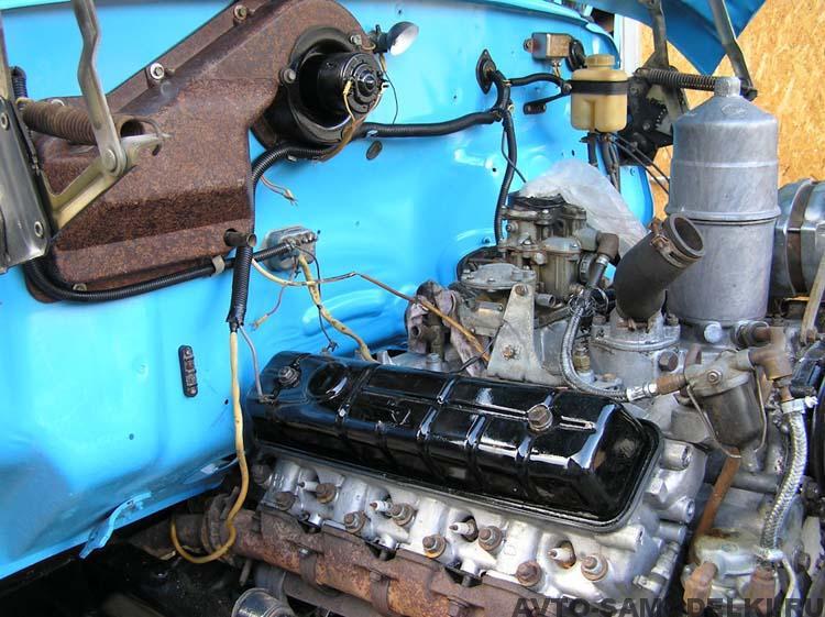 двигатель автомобиля ГАЗ