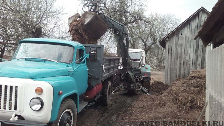 восстановил ГАЗ 53