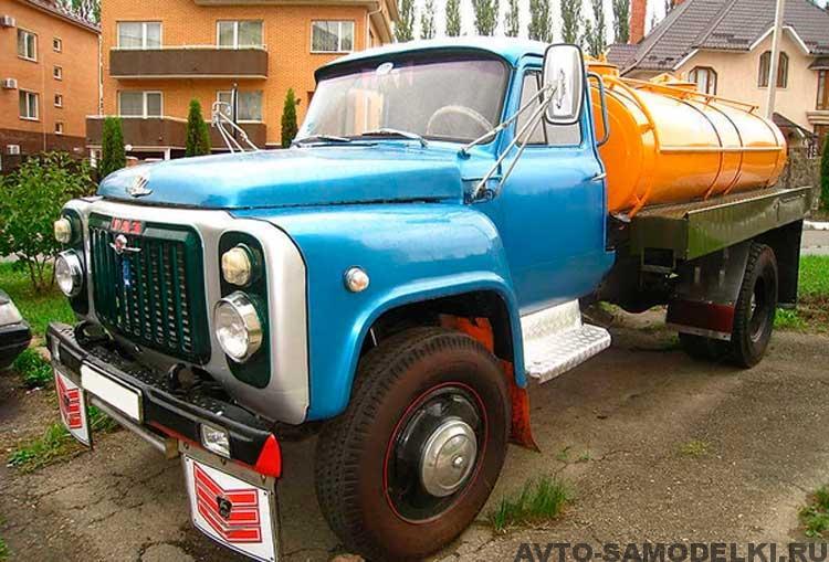 восстановление грузовика ГАЗ 53