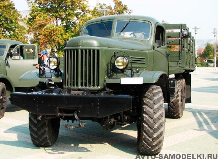 реставрация автомобиля ЗИЛ 157