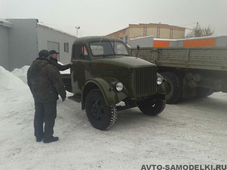 Восстановление грузовика ГАЗ
