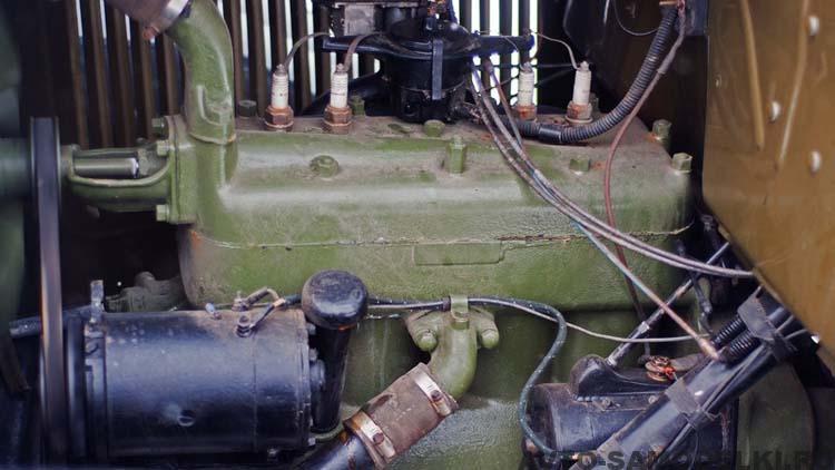 двигатель автомобиля полуторка