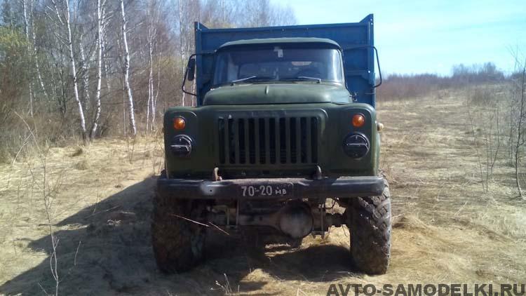 ГАЗ 53 с полным приводом 4х4
