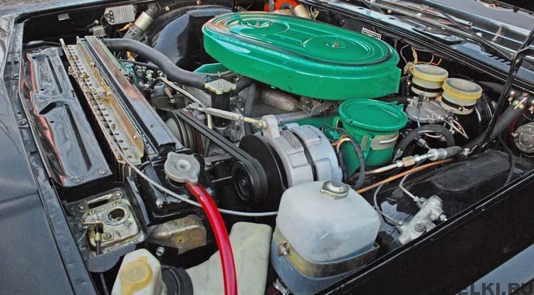 двигатель ГАЗ 14 Чайка