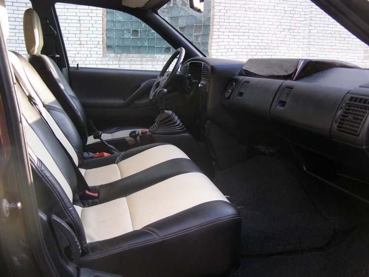 салон самодельного авто