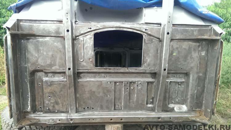 ремонт кабины ЗИЛа