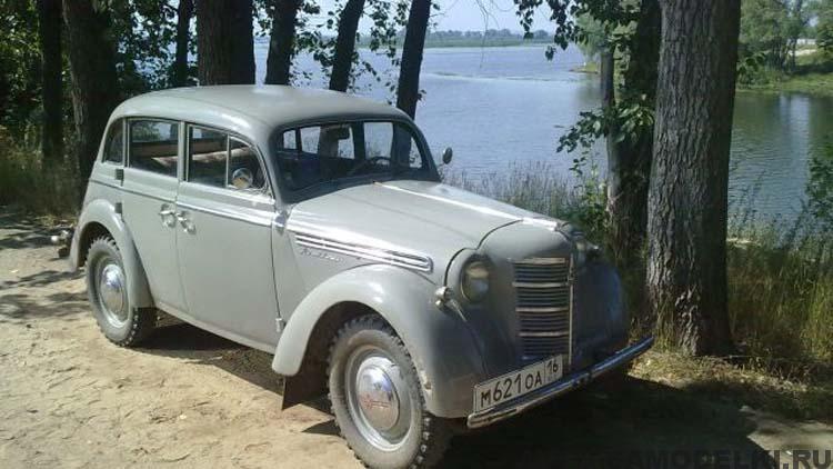 реставрация ретро автомобиля Москвич 401