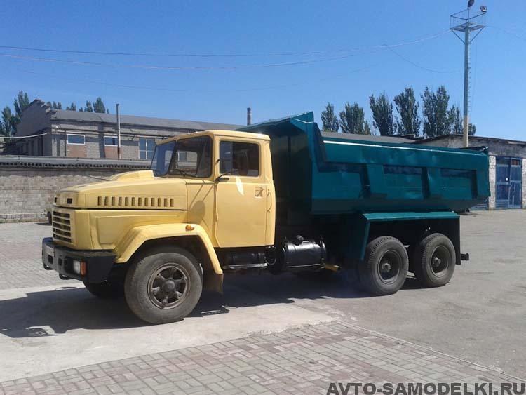 восстановленный КрАЗ 6510