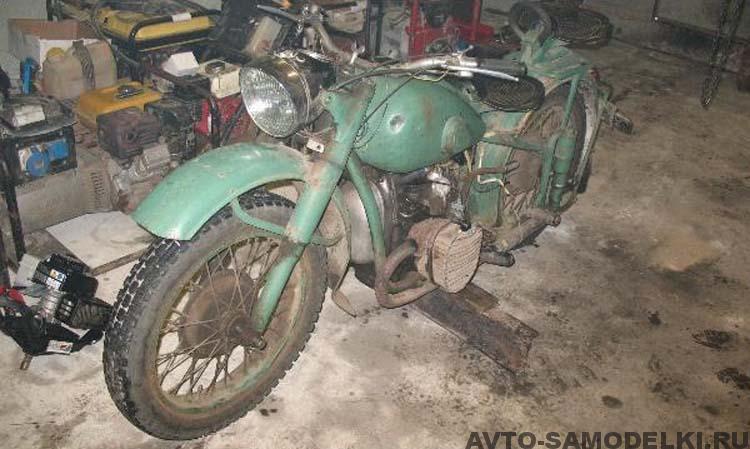 ремонт мотоцикла М 72