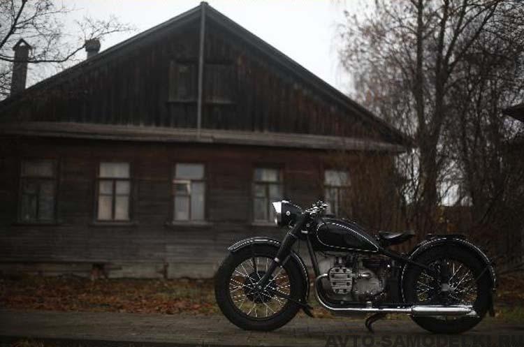 мотоцикл М 72 фото