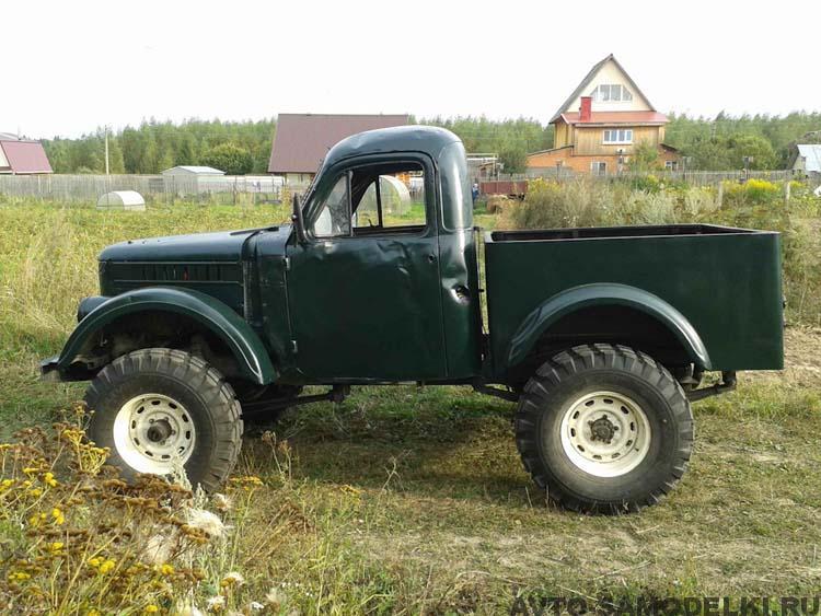 самодельный автомобиль ГАЗ-69