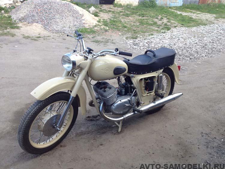 мотоцикл реставрация